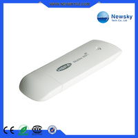 Portable HSPA+ support 5 wifi users and soft wifi function 3g wifi modem