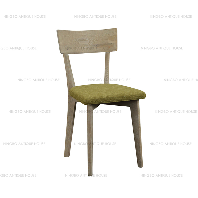 Solid wood Simple style 45*45*82cm oak chair furniture manufacturer
