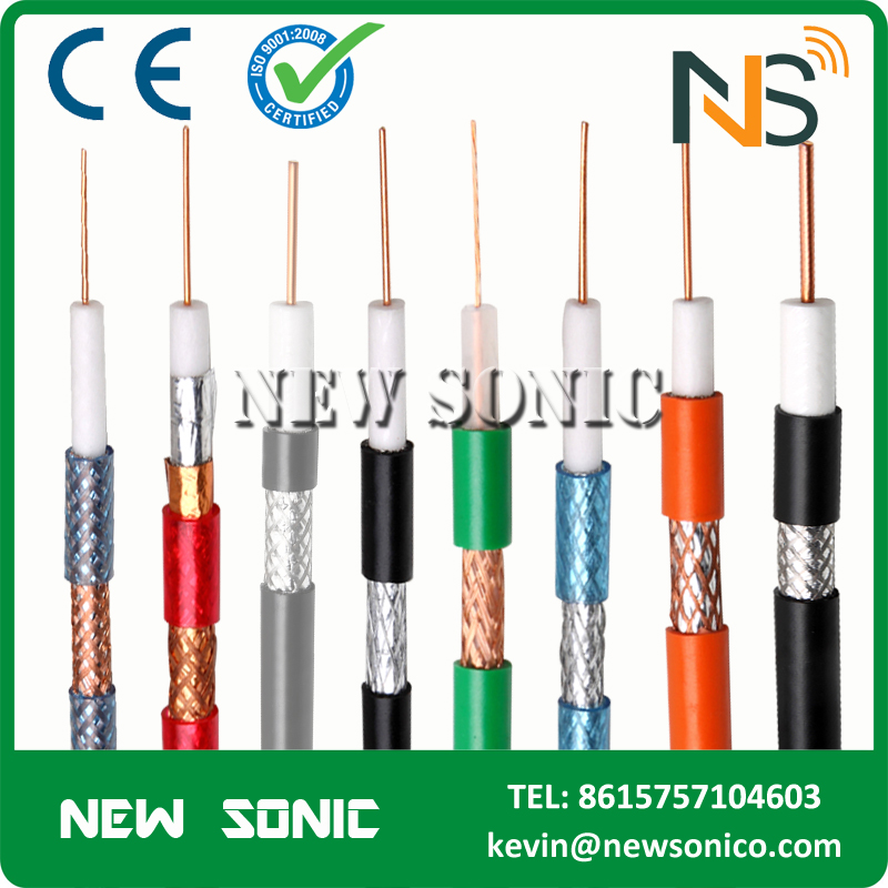 2017 hot sales Made In China Coaxial Cable For CCTV CATV Satellite Coaxial Cable