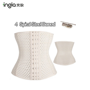 Polyester Fibre Hollow Out Ventilate Slim Belly in Belt