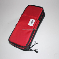 Custom logo promotional polyester pencil case