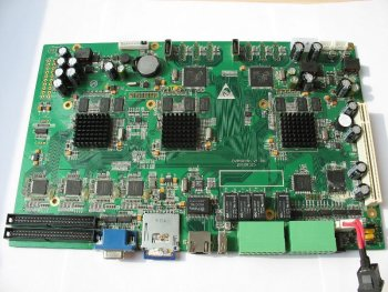 H.264 DVR Full D1 motherboard