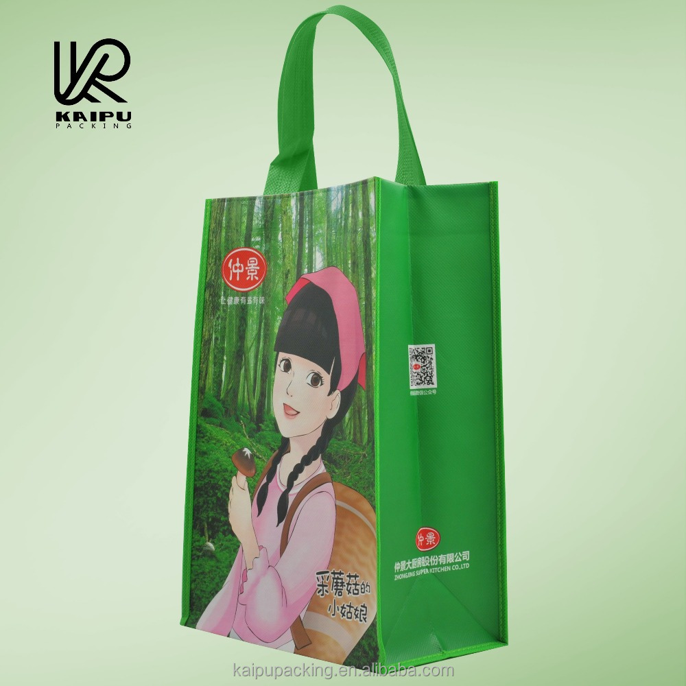 Cheap non woven tote bag promotional handbag Chinese manufacture