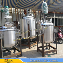 500L chemical reactor stainless steel reaction vessel