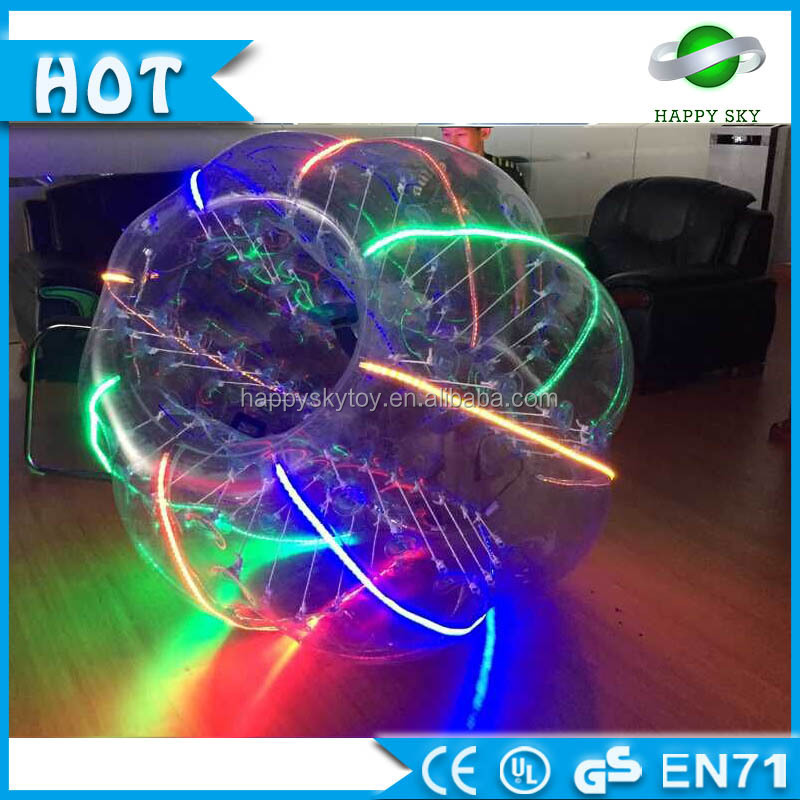 GuangZhou Happy Sky inflatable bumper ball/ body zorbing bubble ball / bubble ball inflatable football