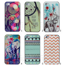 High quality grade A IML pattern design hard plastic case PC case for iphone 5s/5c