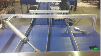 Stainless steel fram belt conveyor machine