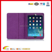 Customized leather case for ipad mini multi-Angle viewing stand, stand case for ipad mini manufacturers