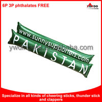 Custom PE Inflatable Cheering Stick for promotion