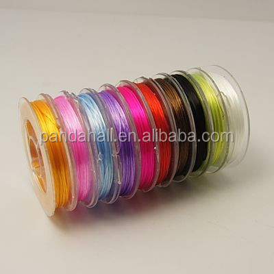 0.8mm Multicolor Crystal Strong Stretchy Elastic Fibre Wire Sets