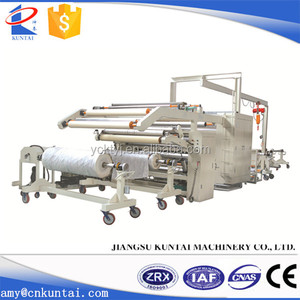 Kuntai Automatic PUR Fabric/PVC Film Lamination Machine
