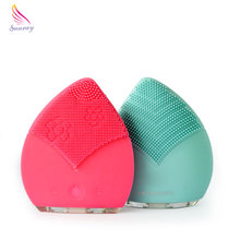 Alibaba Com Facial Cleanser Electronics Silicone Sonic Skin Lightening Face Cleansing Brush