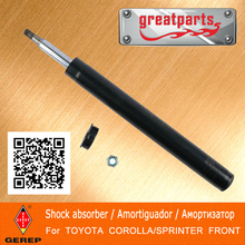 High quality front 4x4 shock absorber for TOYOTA COROLLA/SPRINTER 4852012670 4852012690