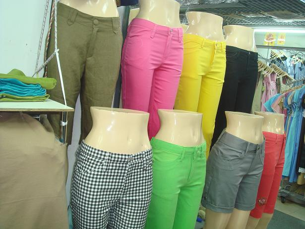 Custom Colored Capri Pants - Buy Capri Jeans Product on Alibaba.com