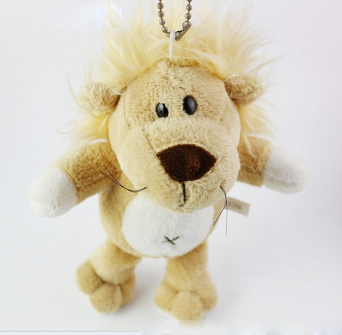 plush toy keychain lion