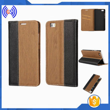 China Supplier Hybrid Bamboo Wood Phone Case For MotoG3 Lether Cover Case