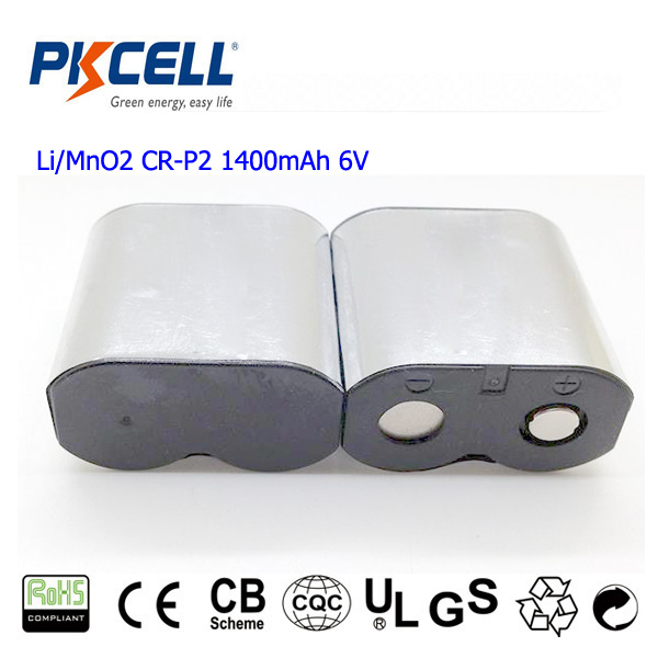 CR-P2 6V 1400mAH Li-MnO2 Battery Digital Camera Lithium Battery