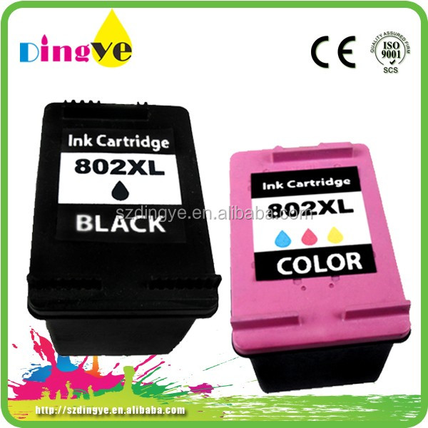 2016 best choice for printers 1010 1511 1000 1050 1510 !!! for hp 802 ink cartridge