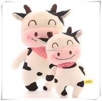 Chinese new year gift cow toy cute plush animal sex toy