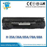 435A/436A/285A/278A compatible toner cartridge for hp printer (sell by carton including 20 pieces)