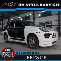 EXCLUSIVE WORLD WIDE FIBER GLASS HM style body kits design for Porsche Cayenne 955 /957 upgrade to NEW 958