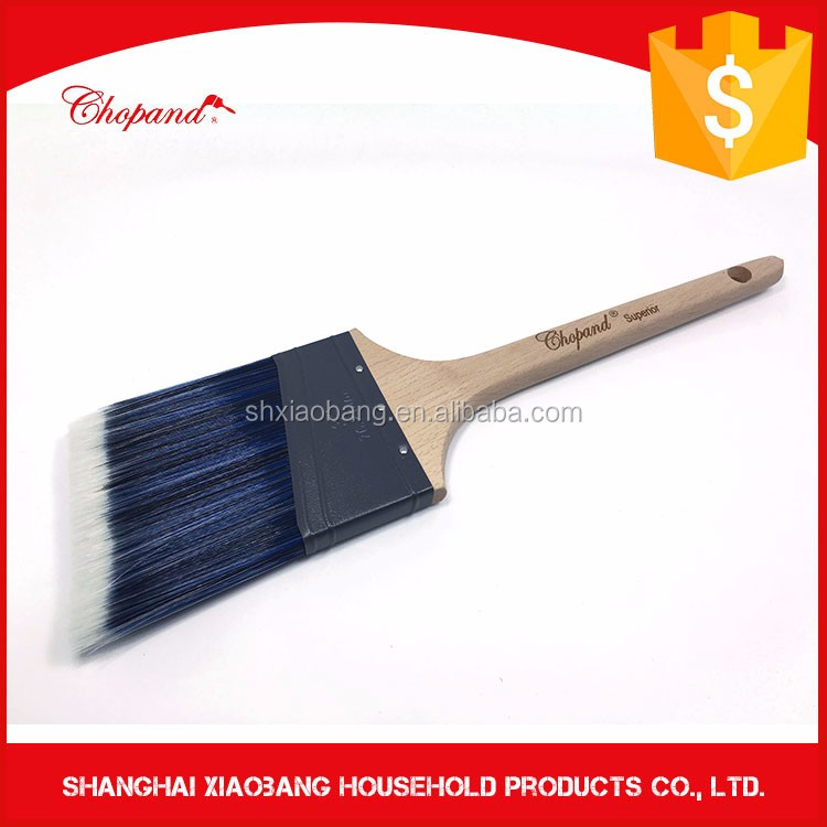 Difference Size Wooden Handle And Excellent Grade Nylon/Polyester Paint Brush