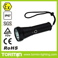 BW7100 LED Explosion Proof Long Range Flashlight/Torch/high power torch/flashlight