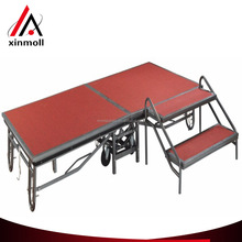 China manufacture factory price removable mobile stage for sale