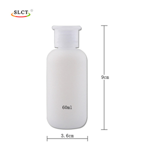 HDPE hand cleaner skin care cosmetic liquid lotion bottle
