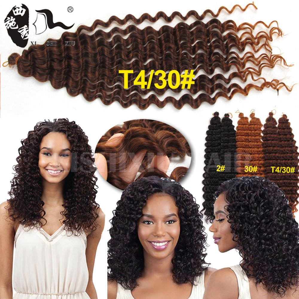 2017 Popular synthetic angels colored hair crochet braids