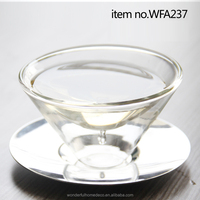 150ml high quality double wall wine glass