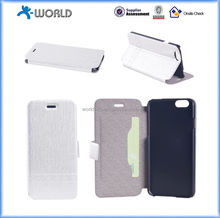 Smart Hot Sale Heat Pressing Pu Leather Case Cover for iPhone 6
