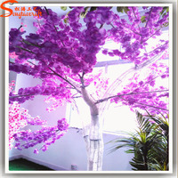 Popular lighted cherry blossom tree LED tree for wedding party decoration at garden