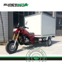 New Design Cargo Tricycle With Insulation Box/Three Wheel Motorcycle