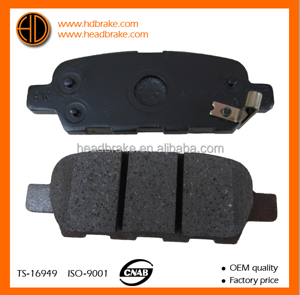 brake pads for nissan tiida 44060-8H385, D4060-9N00A