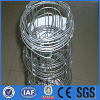 Hot sale!!! Superior quality galvanized woven cattle/grassland/sheep wire mesh fence