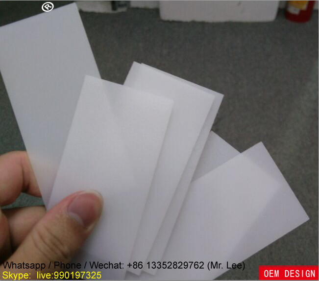 2mm milk white frosted acrylic sheet for led light diffuser