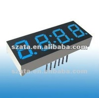 Long working time blue 7 segment LED digital module