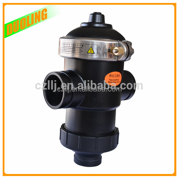 "Duoling DN40 1.5"" electric water valve flow control for Auto Control with plastic injection molding"