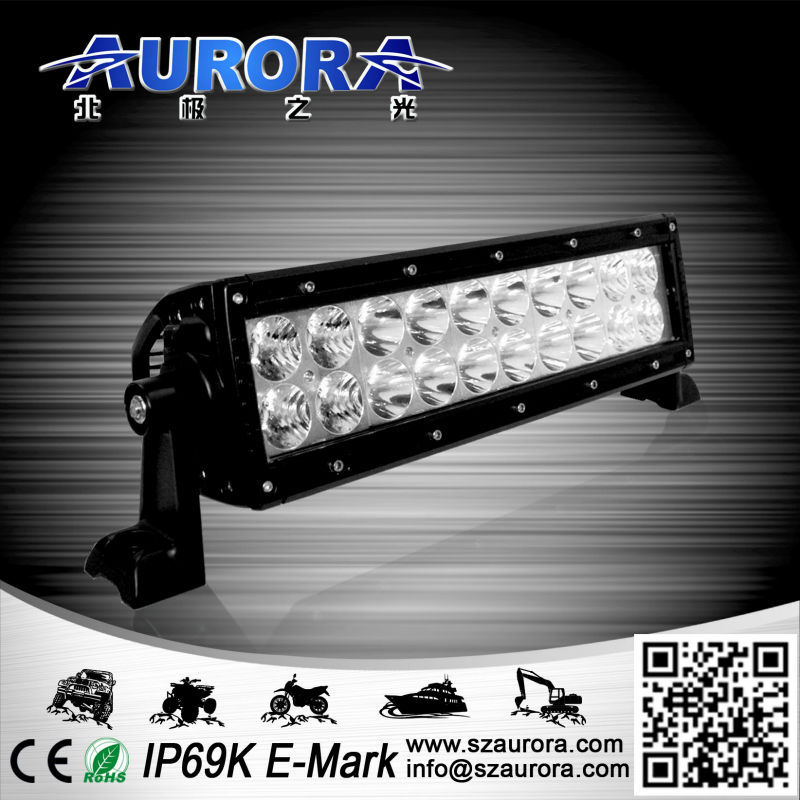 Aurora Auto Lighting 10inch 60W car led off road light bar