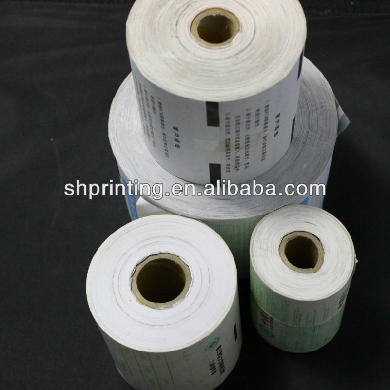 Printed Thermal Roll printing service thermal paper roll wholesale