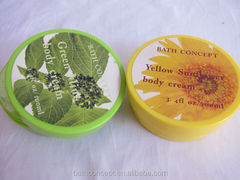 Fruit flavor Raw shea butter body butter