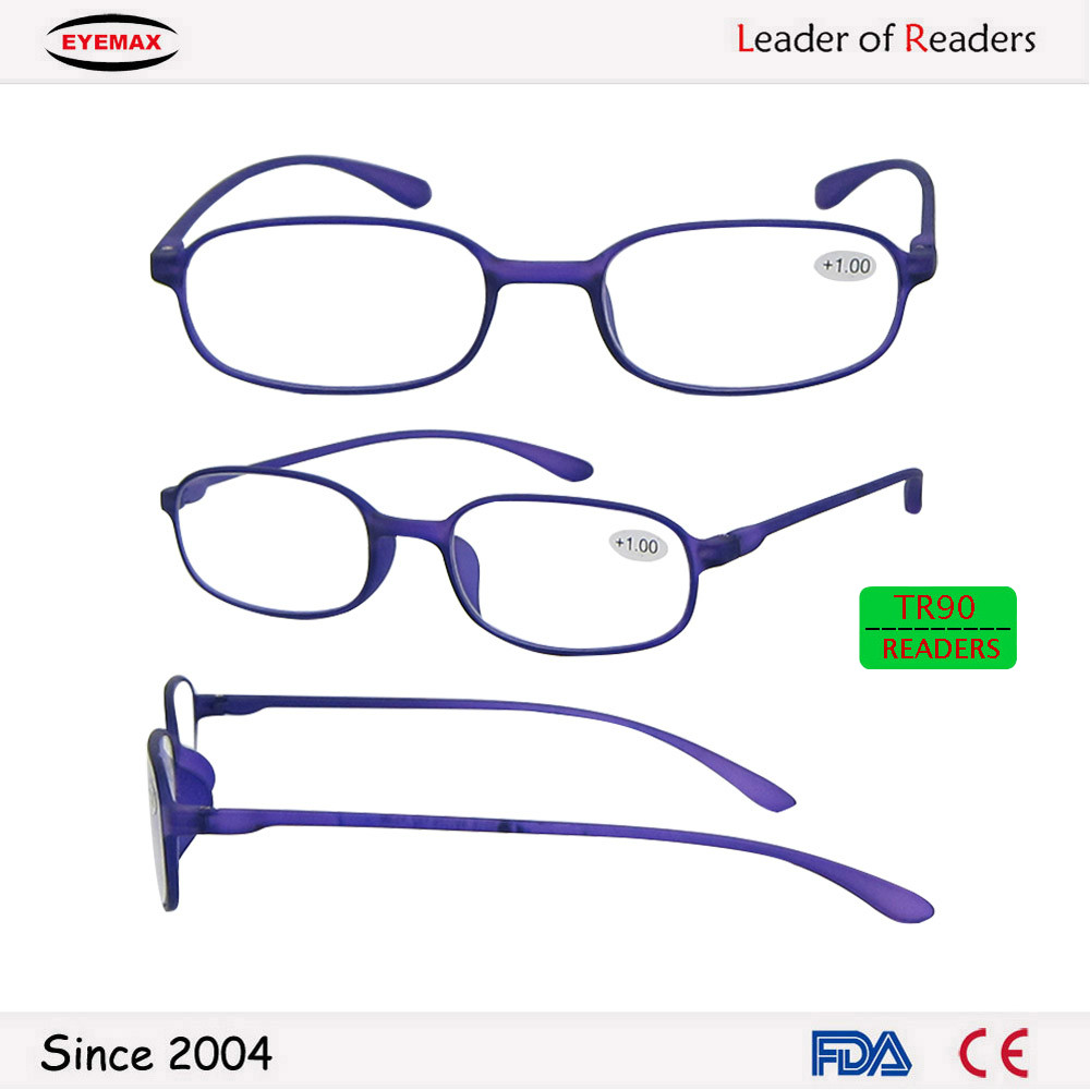 Hot-selling flexible frame TR90 reading glasses wholesale made in china