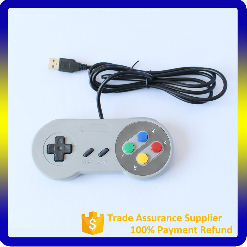 Hot selling For Super nintendo snes controller Wired Classic Controller For SNES game console
