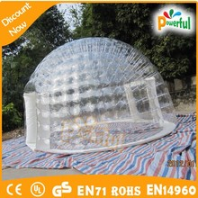 China wholesale commercial outdoor camping bubble tent,inflatable tents uk