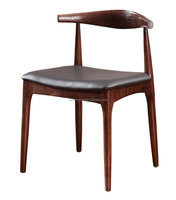 indoor classic solid wood dining chair export wholesale wood armchair replica hans wegner chairs