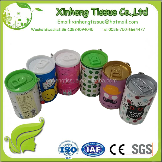 Wholesale High Quality Mini Plastic Facial Cleaning wet wipe container