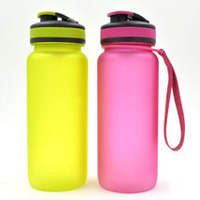 650ml tritan BottledJoy sport water bottle with handle string using for outside sporting