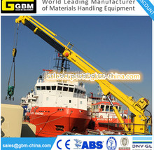 3T40M Offshore Hydraulic telescopic crane folding arm provision cranes for sale made in china