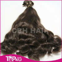 2015 top selling raw indian temple hair